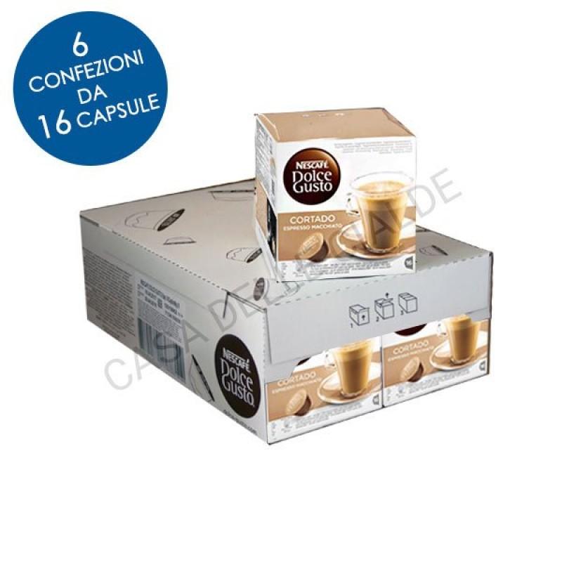 96 capsule Nescafe Dolce Gusto CORTADO