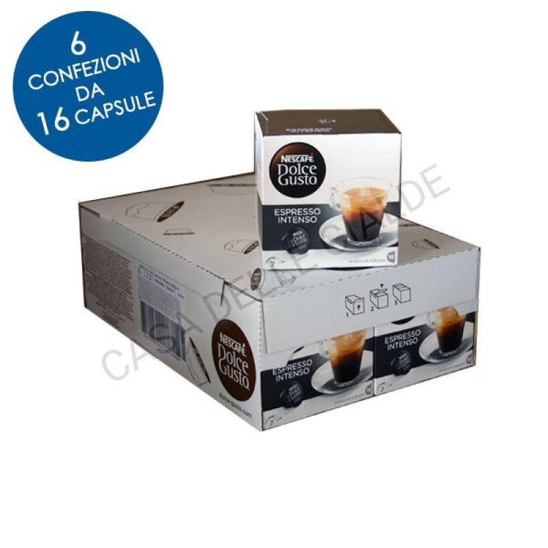 96 capsule Nescafe Dolce Gusto ESPRESSO INTENSO