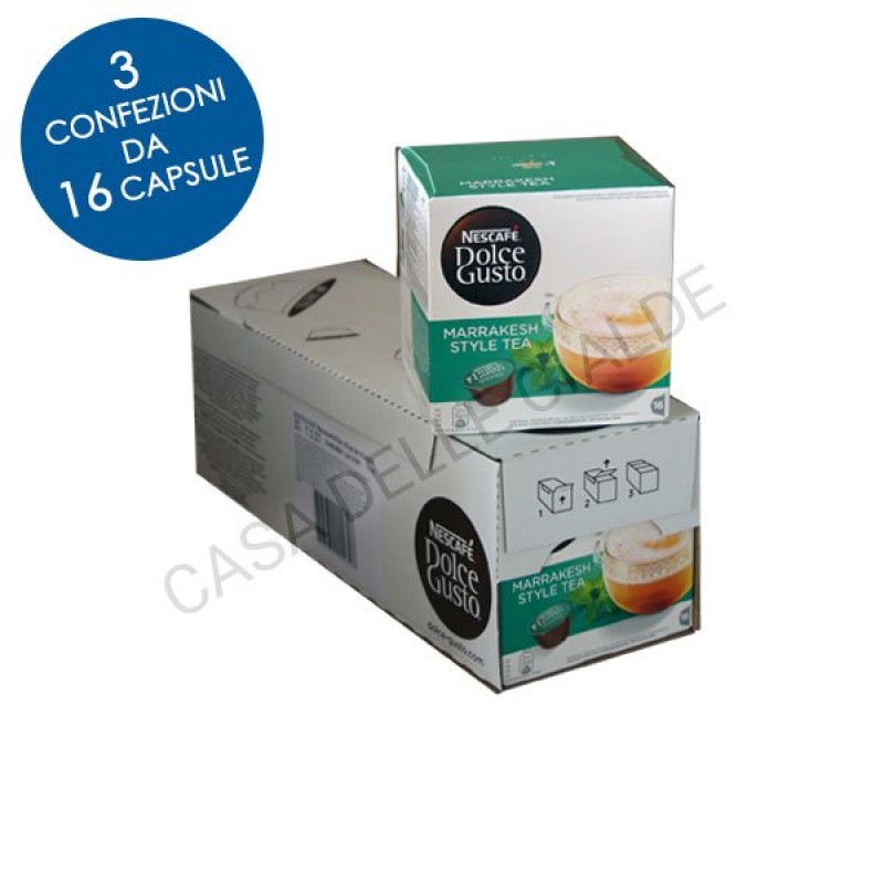48 capsule Nescafe Dolce Gusto MARRAKESH STYLE TEA