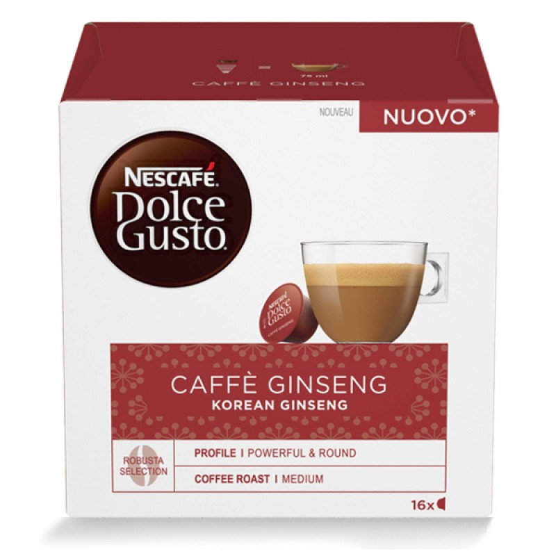 48 capsule Nescafe Dolce Gusto GINSENG