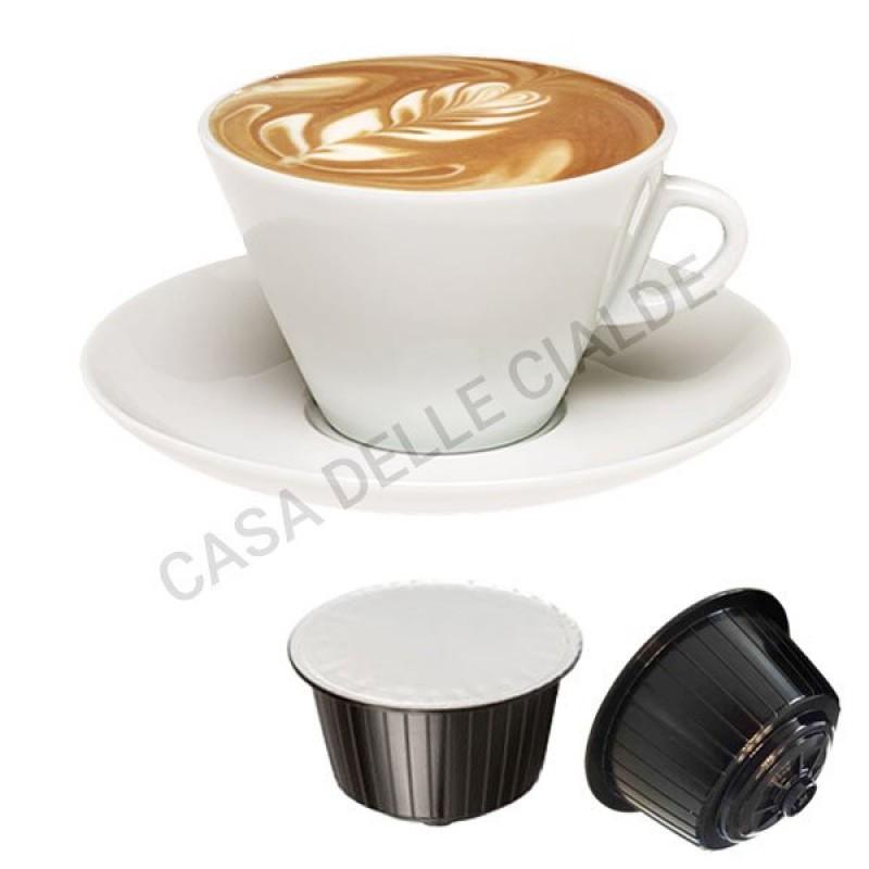 128 capsule Toda Dolce Gattopardo Cappuccino compatibili Nescafè Dolcegusto