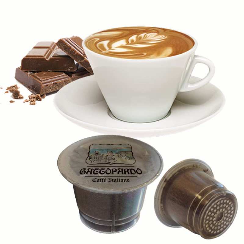 80 capsule Gattopardo Capciock compatibili Nespresso