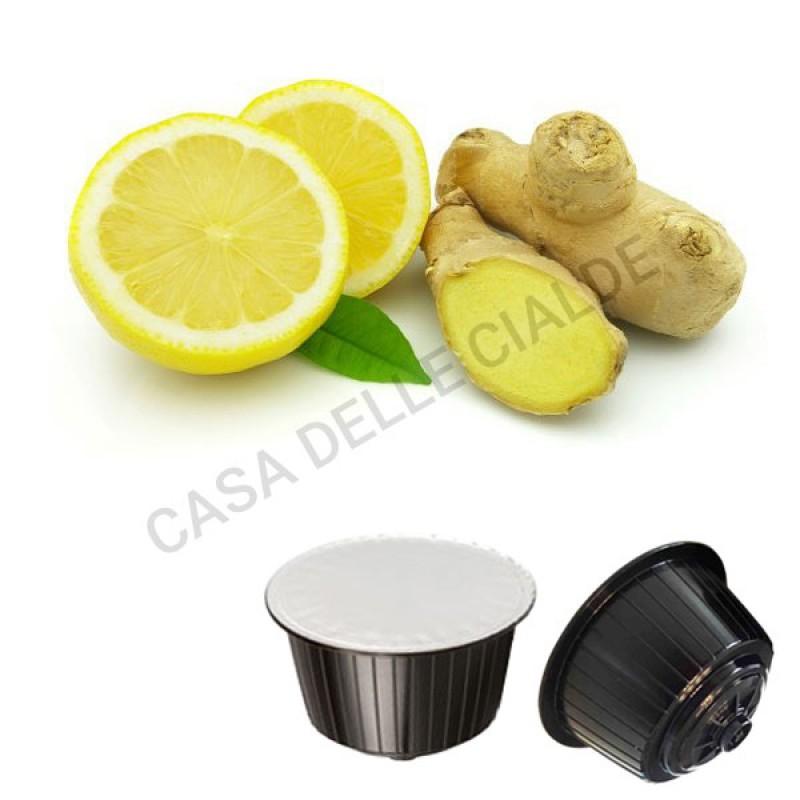 128 capsule Gattopardo Zenzero e Limone Compatibile Dolce Gusto