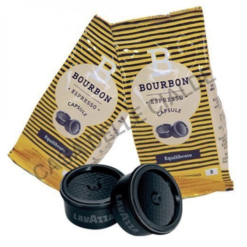 100 capsule LavAzza Bourbon Equilibrato