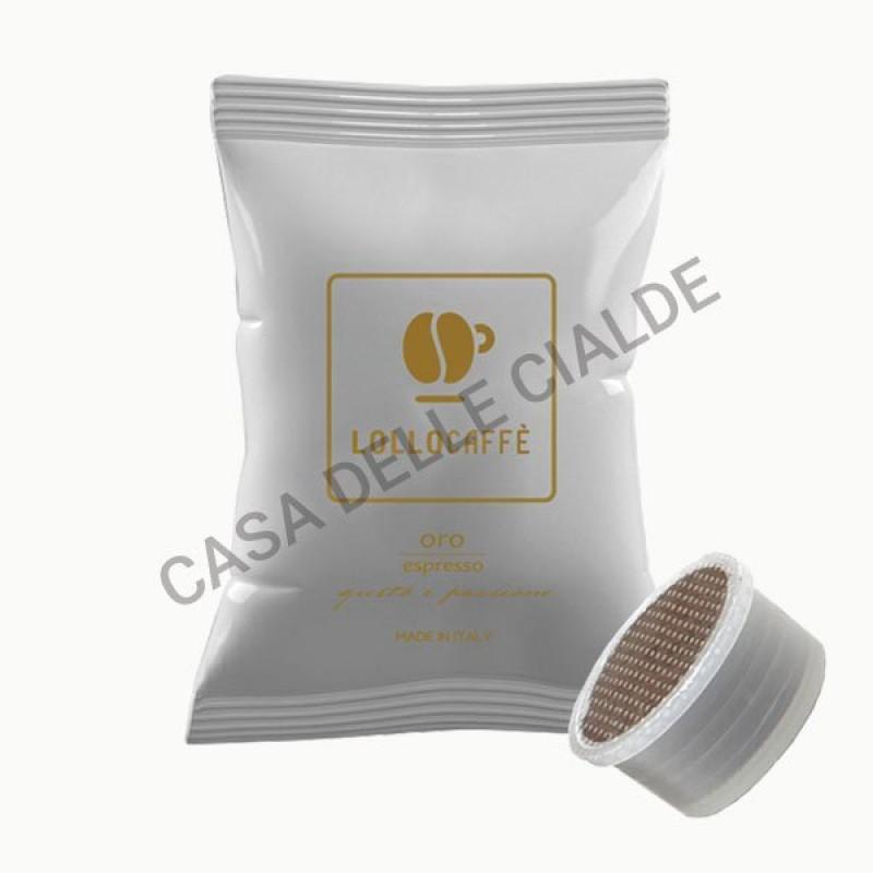 100 capsule Lollo caffè MISCELA ORO -COMPATIBILE ESPRESSO POINT-