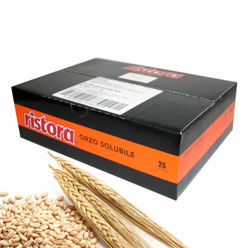 50 capsule Orzo Ristora compatibile Lavazza Point
